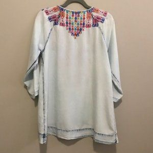 Soft Surroundings Tops - Soft Surroundings Tunic Top Mexican Mixteca Size M